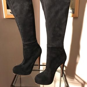 Brian Atwood - Knee High - High Heels Boots